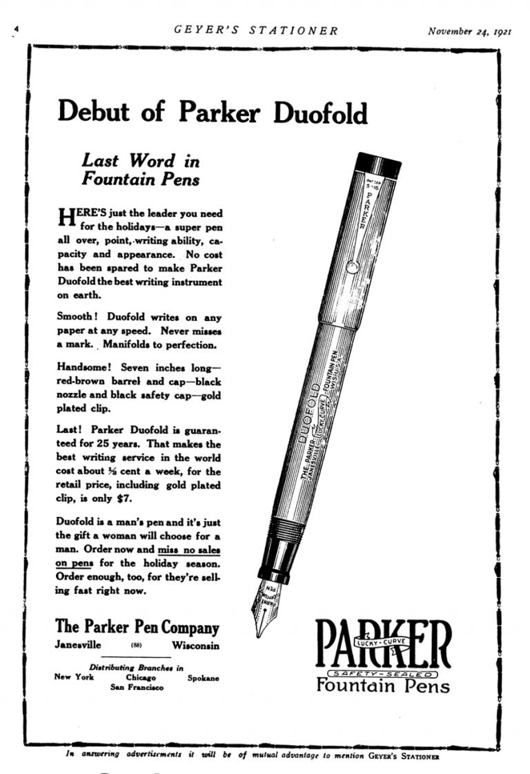1921 11 24 Geyer´s Stationer