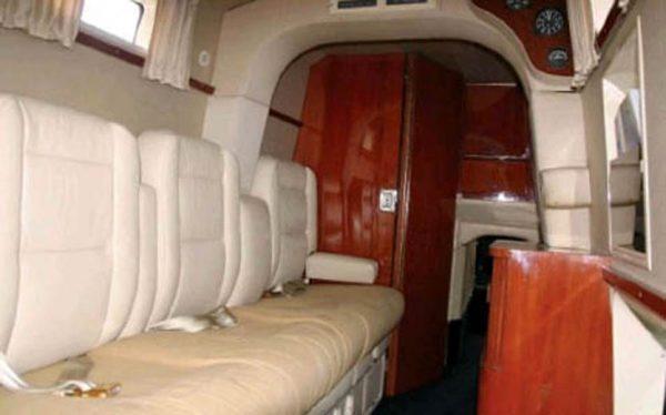 A passenger's cabin of a Douglas Marketeer (3).