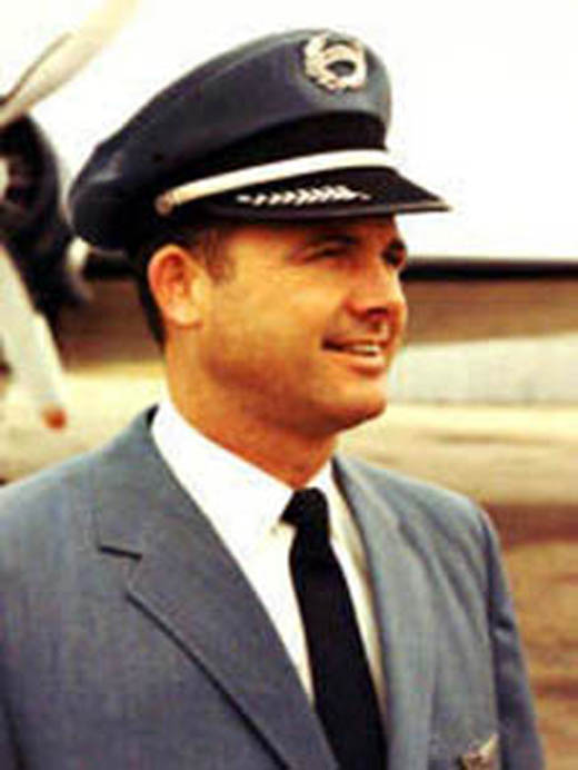 Richard Wixom, Parker´s pilot from 1958 to 1965(4) (c. 1958).