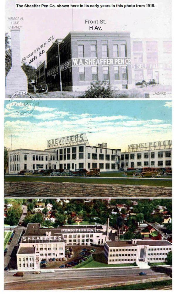 Muy pronto compraron un viejo edificio de la Morrison Manufacturing Co.  ciudad abajo, en Front St. a unos metros del Mississipi y trasladó allí su actividad. En 1917 la Compañia empleaba ya a 100 trabajadores y producía 100.000 estilográficas/año.
