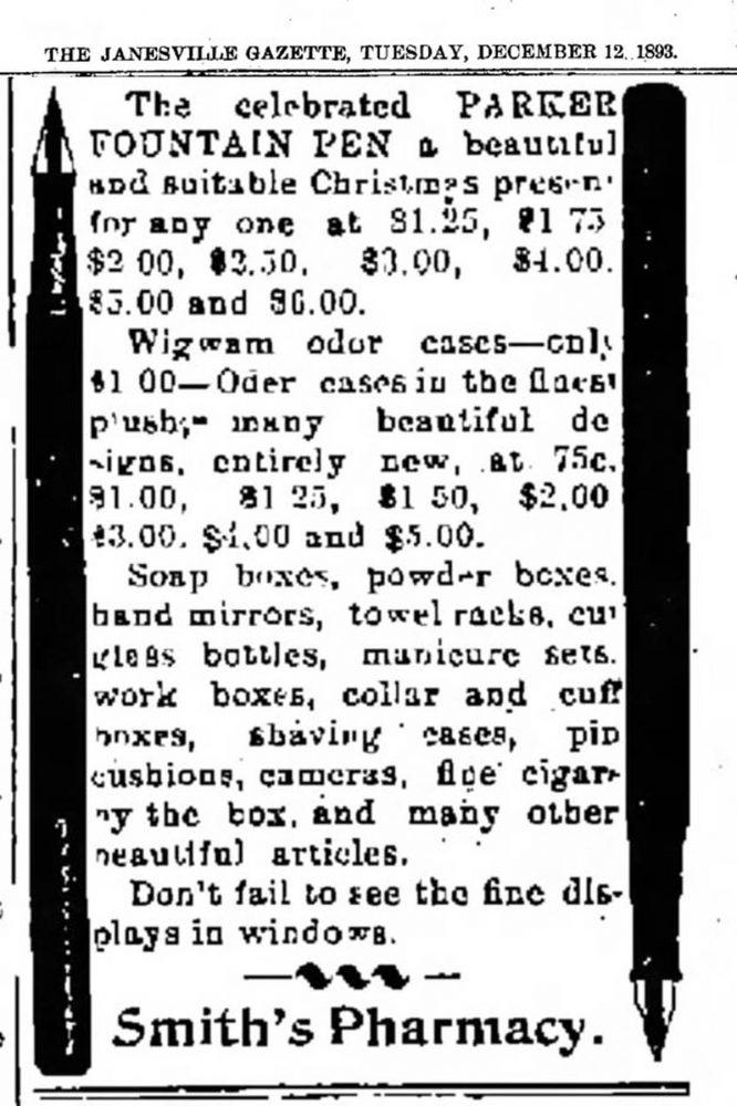 1893 12 12 Janesville_Daily_Gazette