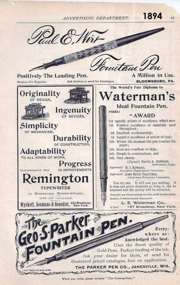 1894 cosmopolitan