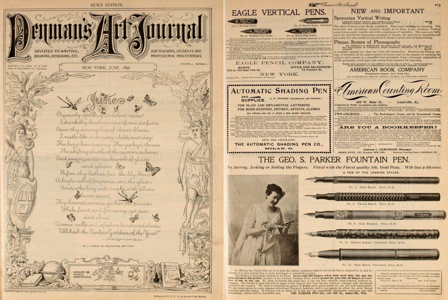 1896 06 00 Penman´s art journal