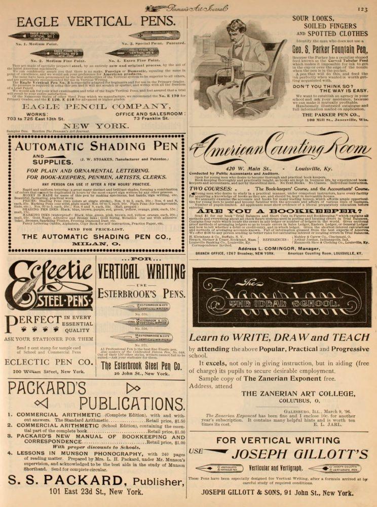 1896 07 00 Penman´s art journal