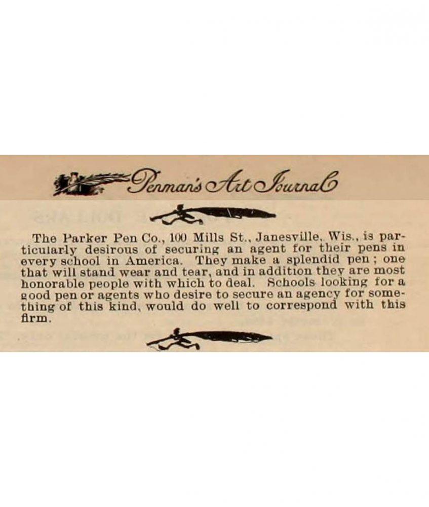 1896 12 Penman´s art journal want agent