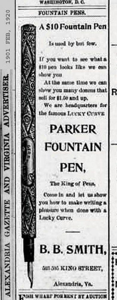 1901 02 20 Alexandria gazette