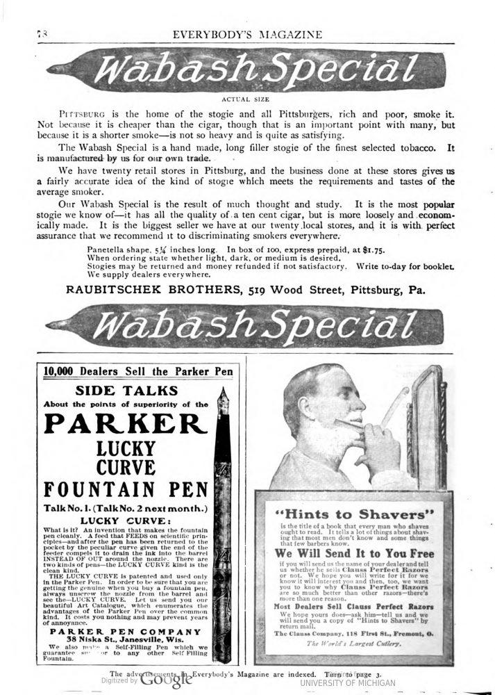1905 EVERYBODY`s magazine