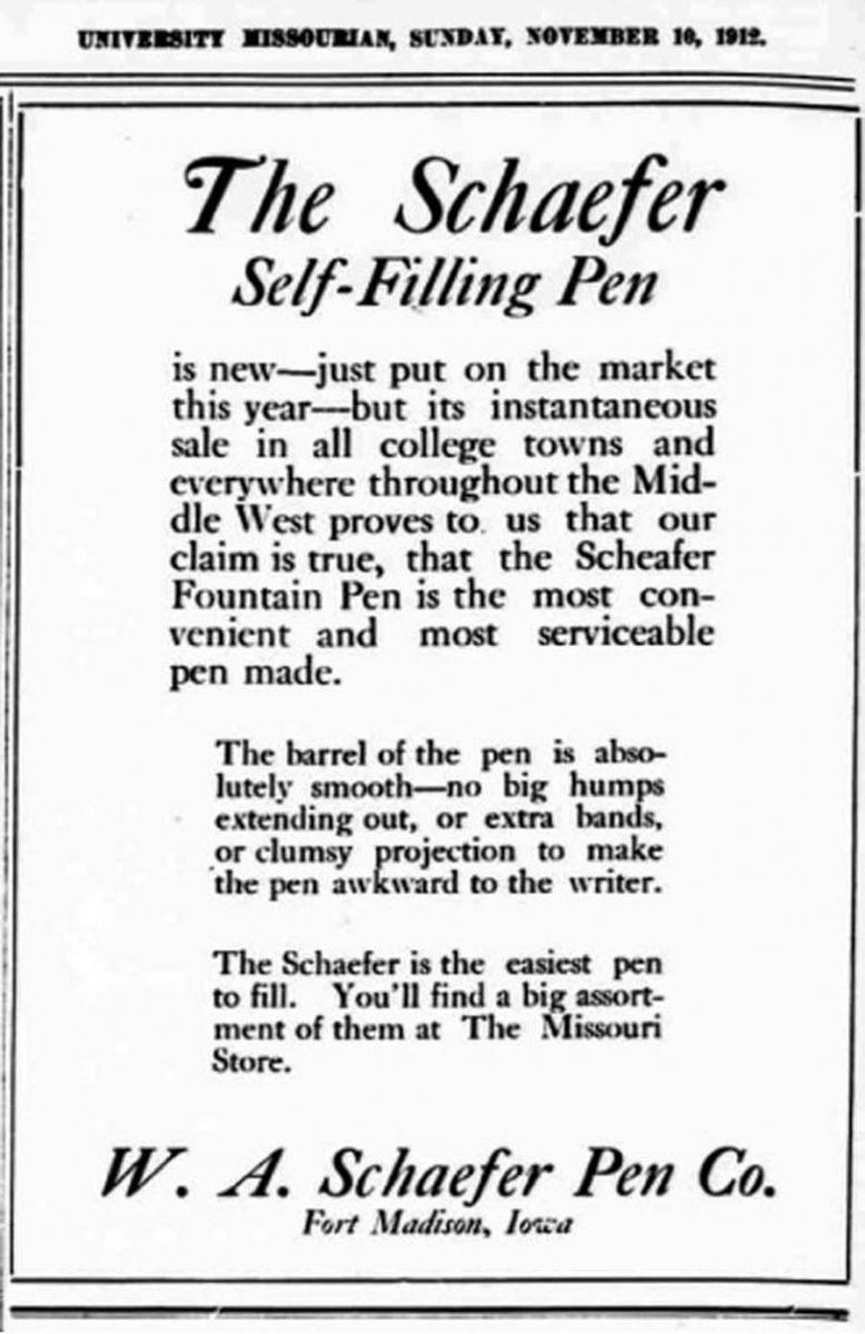 1912 11 10 University Missourian Lazard