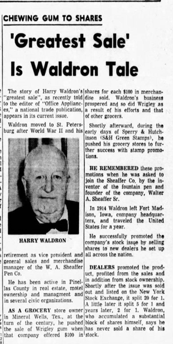 1914 Harry Waldron