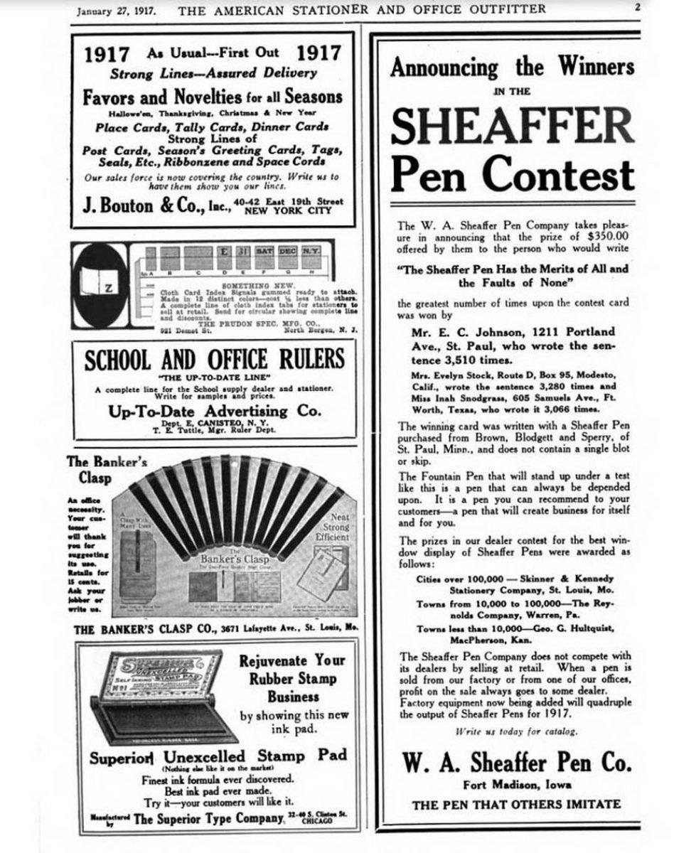 1917 01 27 Contest winner
