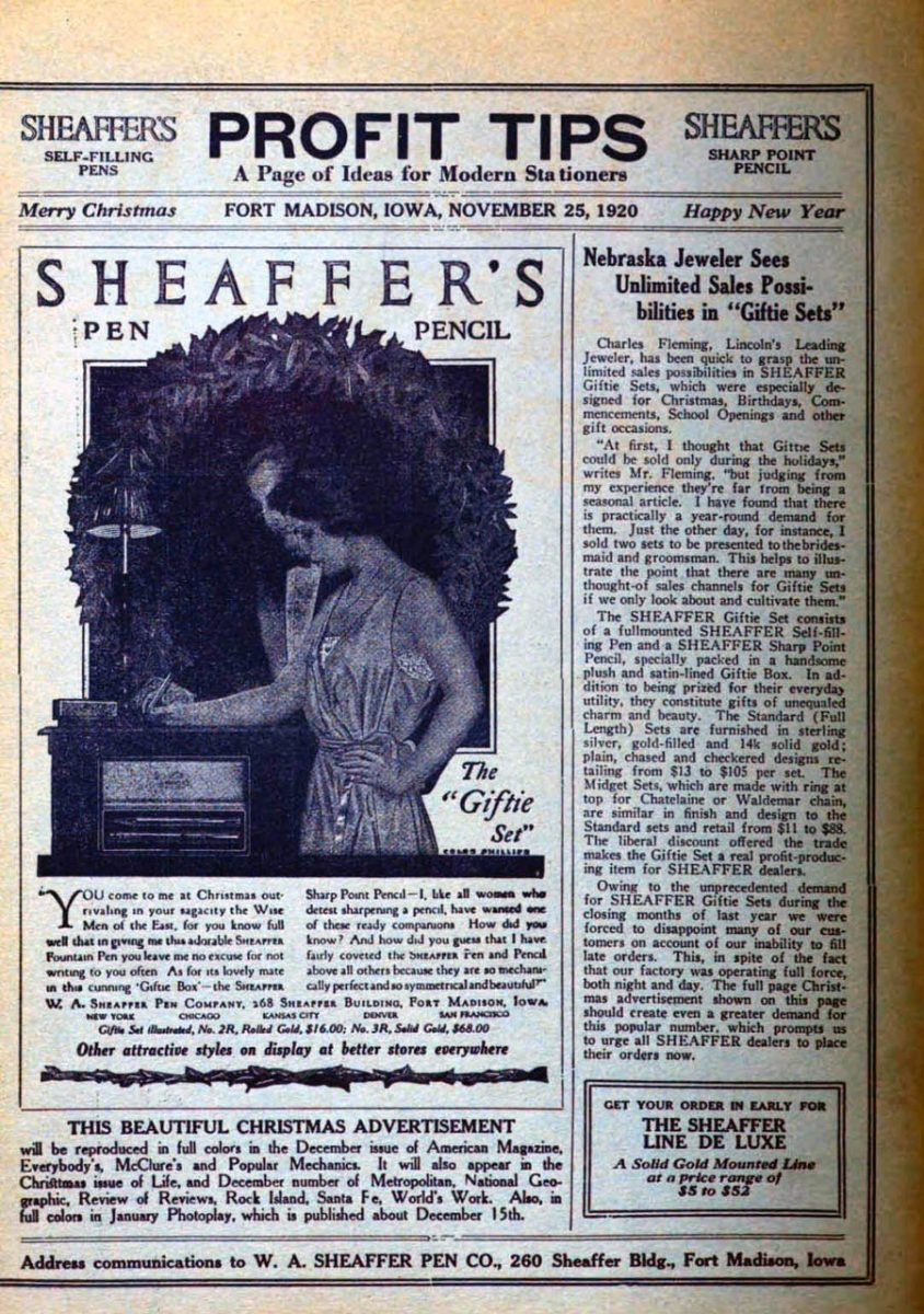 1920 11 25 PROFIT TIPS Modern Stationers