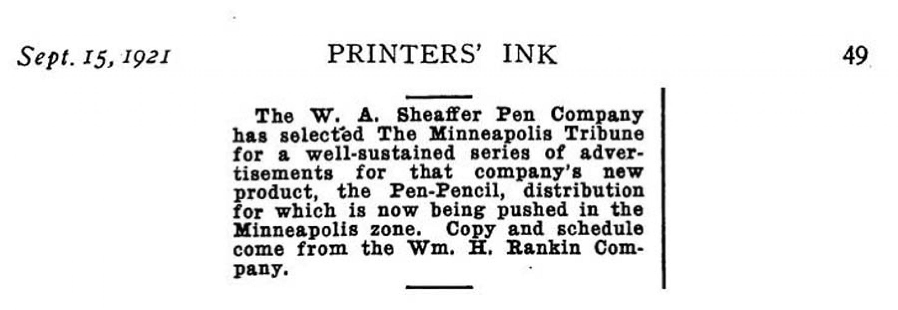1921 09 15 Minneapolis Tribune