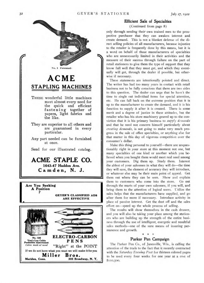 1922 07 27 Contrato anuncios coste SEP por 110.000�