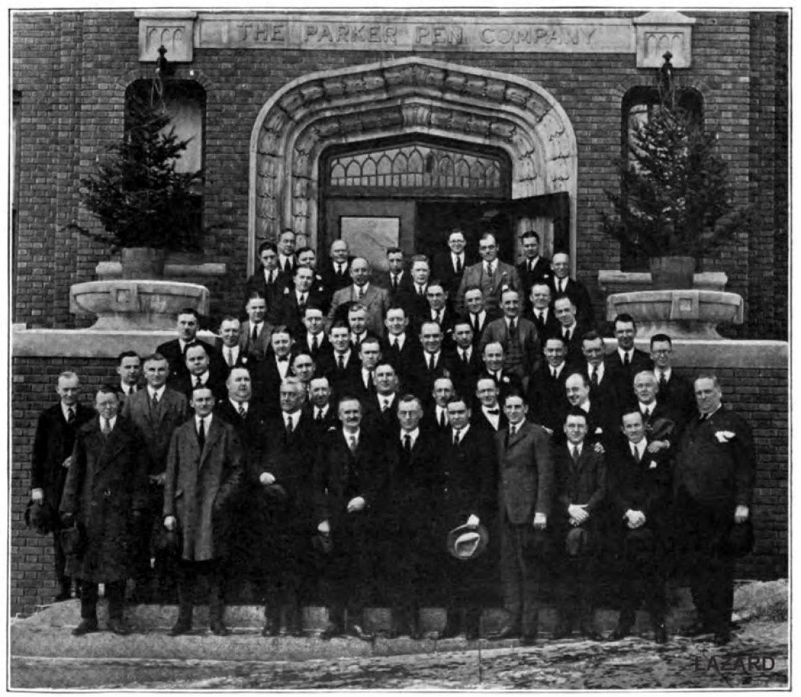1923 01 01 Parker Convention photo Lazard