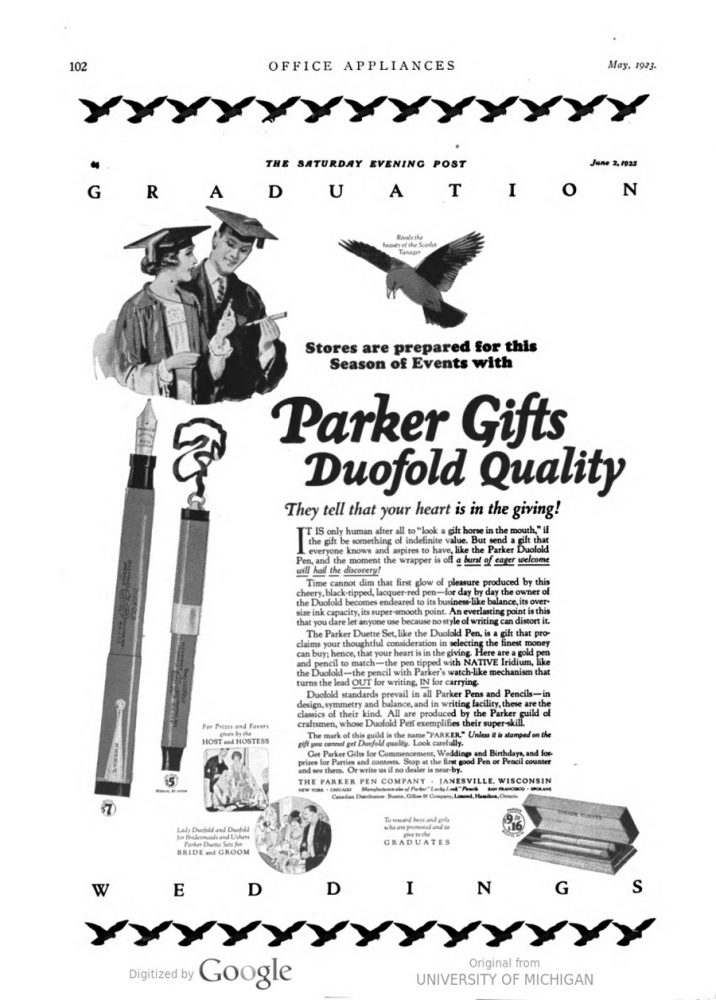 1923 05 01 Duofold ad