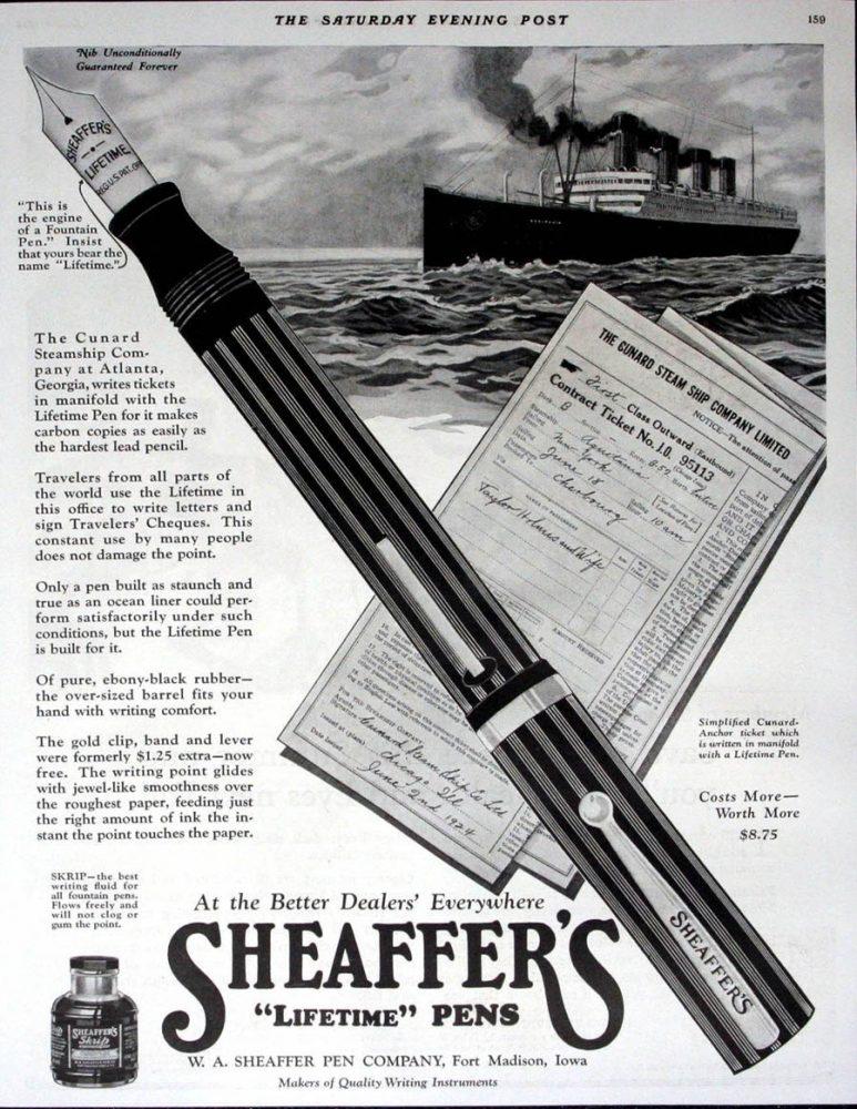 1924 06 07 manifold sheaffer ad sin white doc