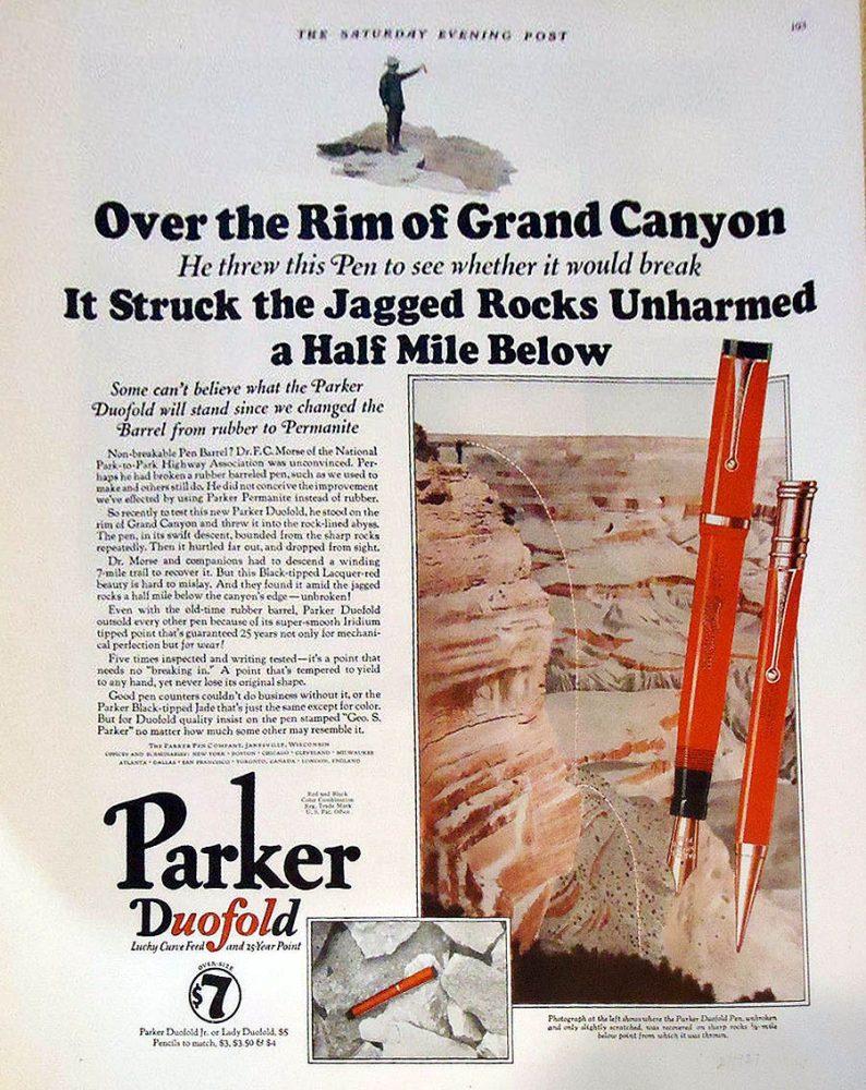 1924 aprox Grand Canyon