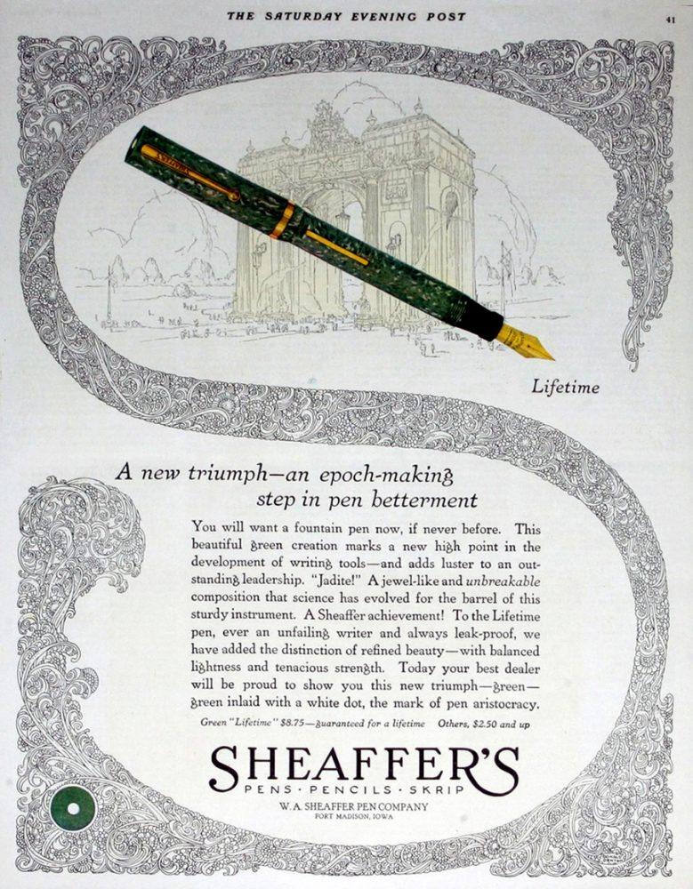 1925 11 12 SHEAFFER LIFE MAGAZINE (2)