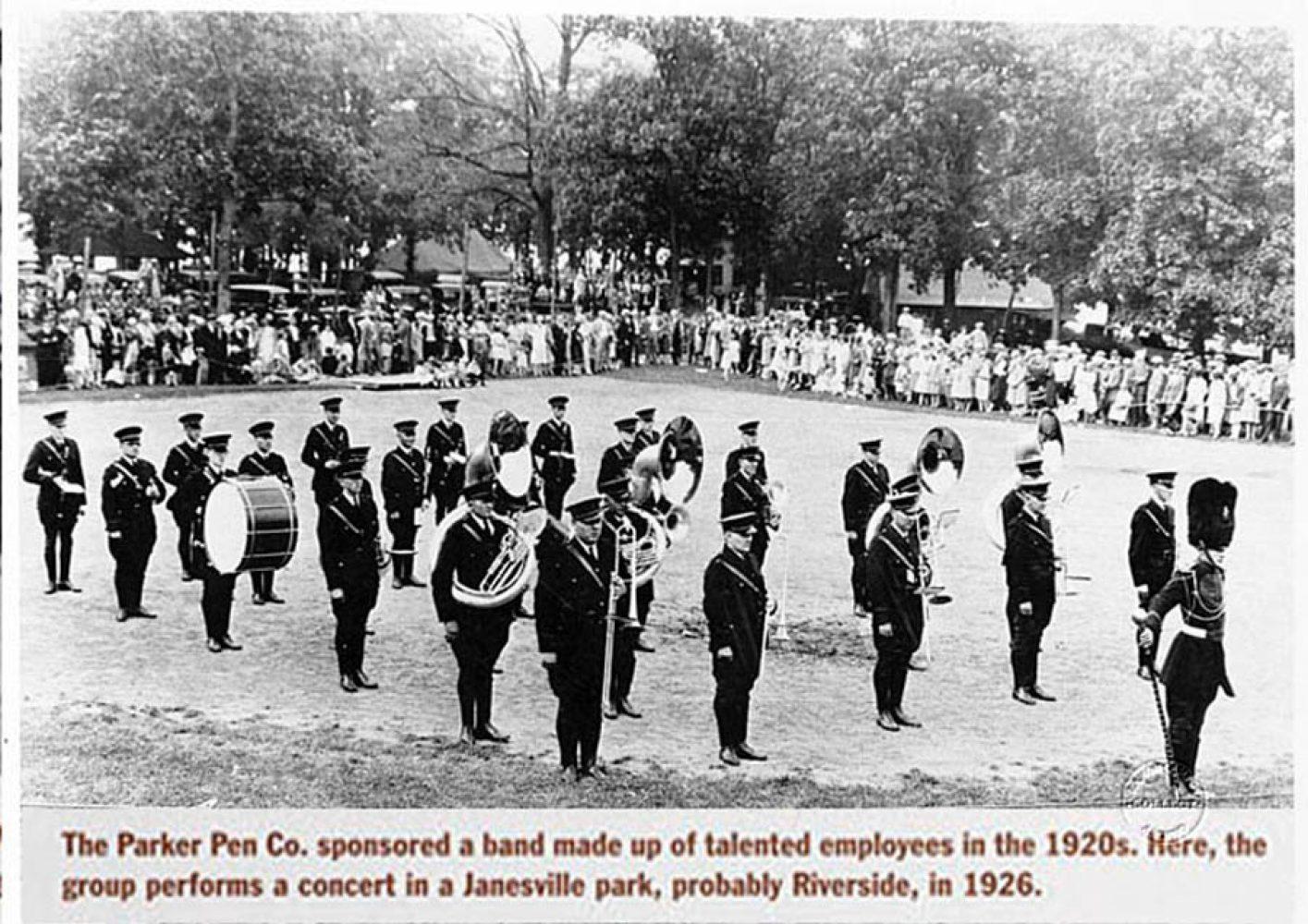 1925 Parker band 1926 rec