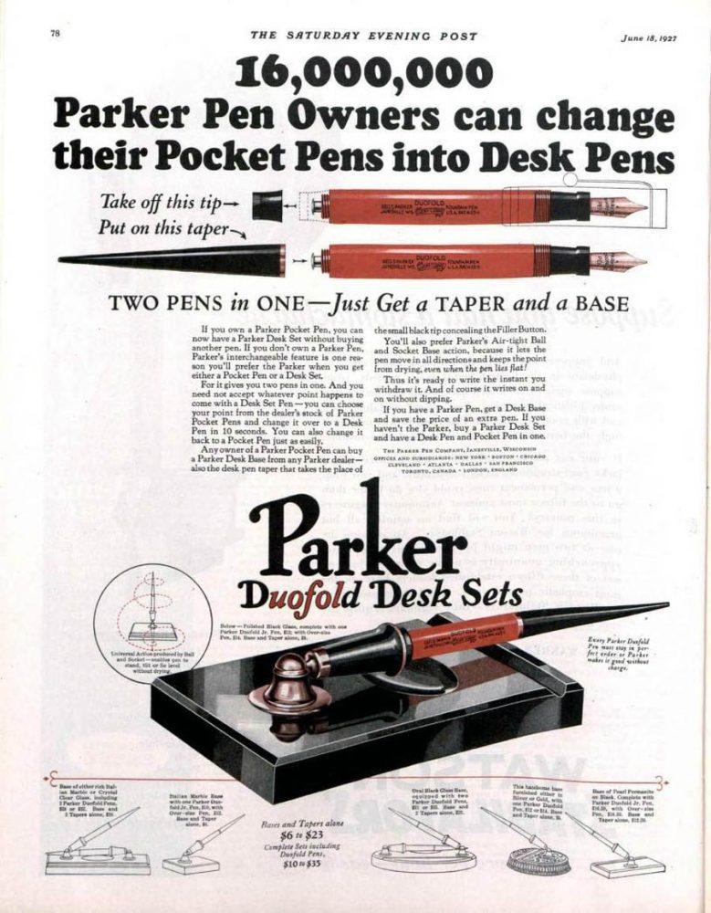 1927 06 18 SEP 1º CON ANILLA Taper para hacerla de escritorio