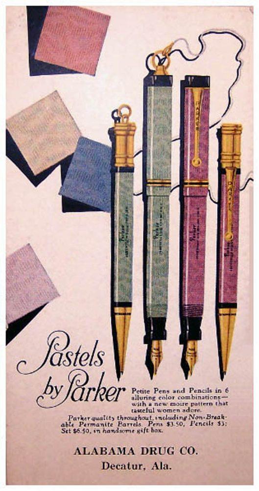 1927 PARKER PASTEL