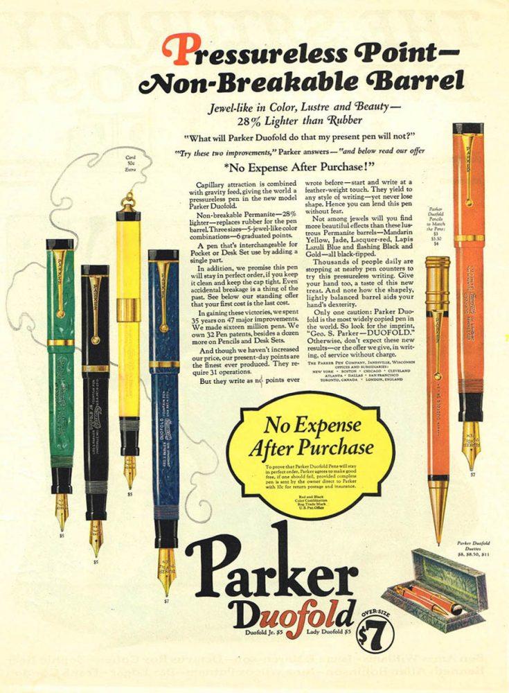 1927 parker