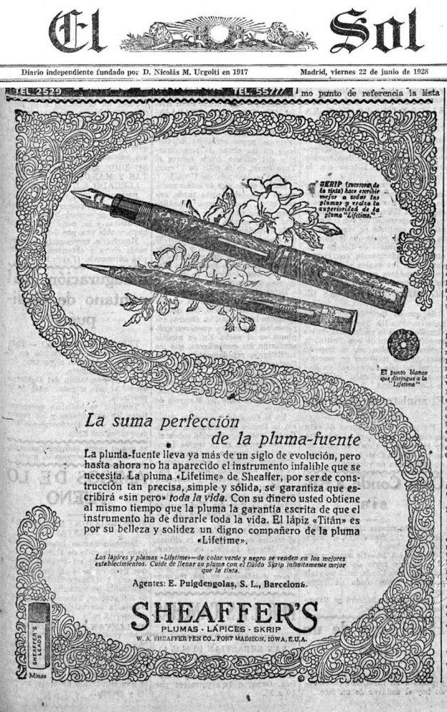 1928 06 22 Spanish ad