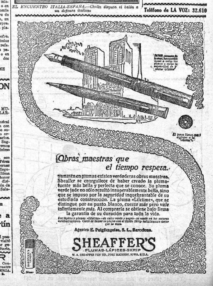 1928 07 20 Garatía de por vida La Voz (Madrid) página 7