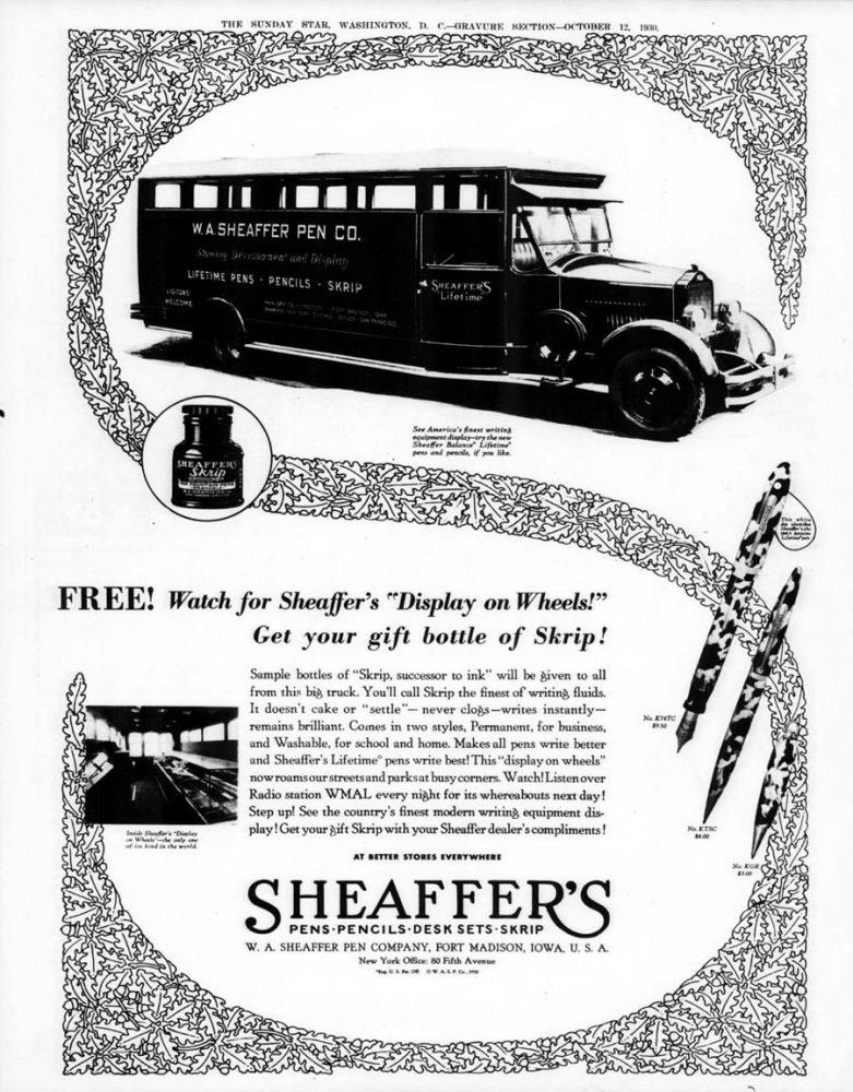 1930 10 12 camión expositor