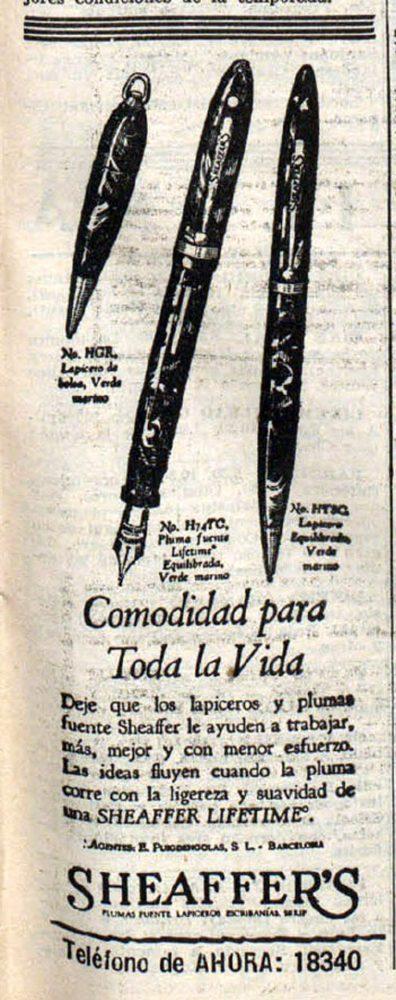 1931 11 07 Spanish ad Ahora