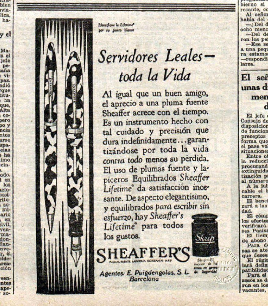 1931 11 12 Spanish ad Ahora
