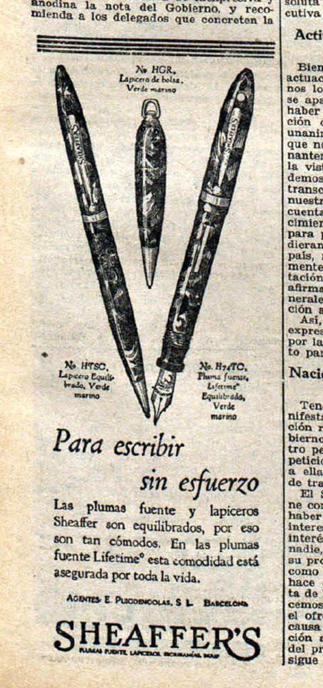 1931 12 03 Spanish ad Ahora