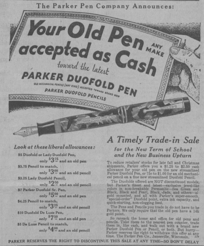 1932 Recompra Duofolds The Cornell Daily Sun, Volume 53, Number 10, 6 October 1932