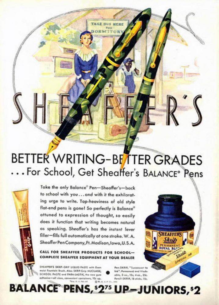 1932 SHEAFFER AD1