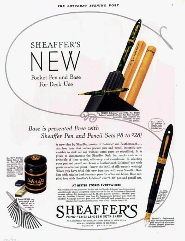1932 SHEAFFER AD2
