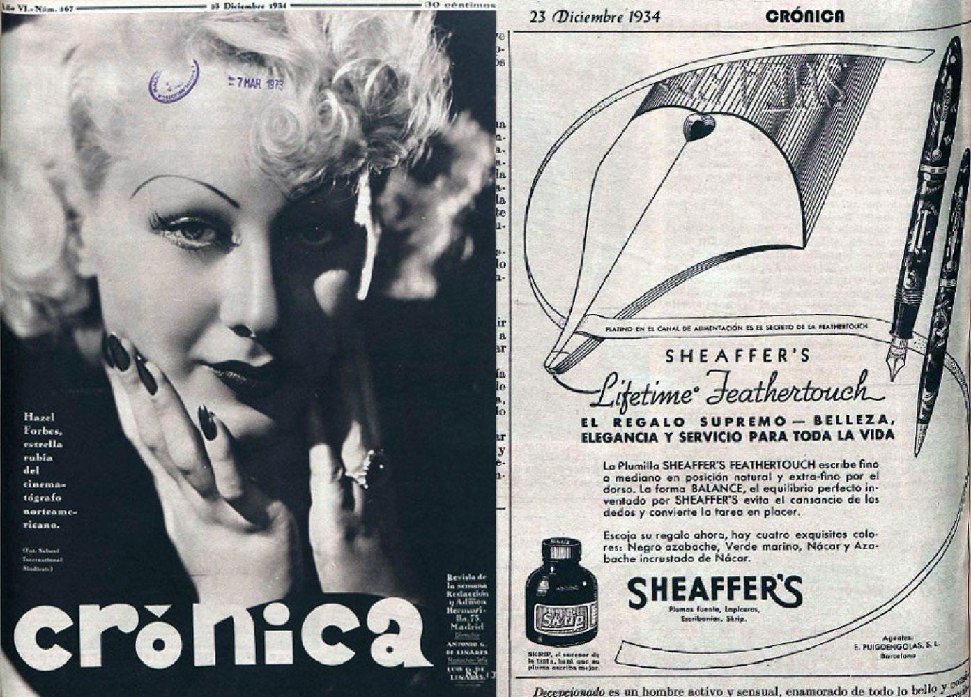 1934 12 23 Spanish ad