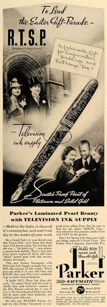 1937 01 USA PARKER