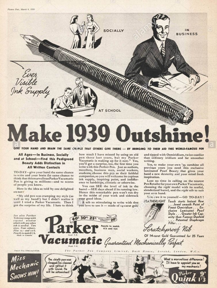 1939 03 04 Picture Post vacumatic ad