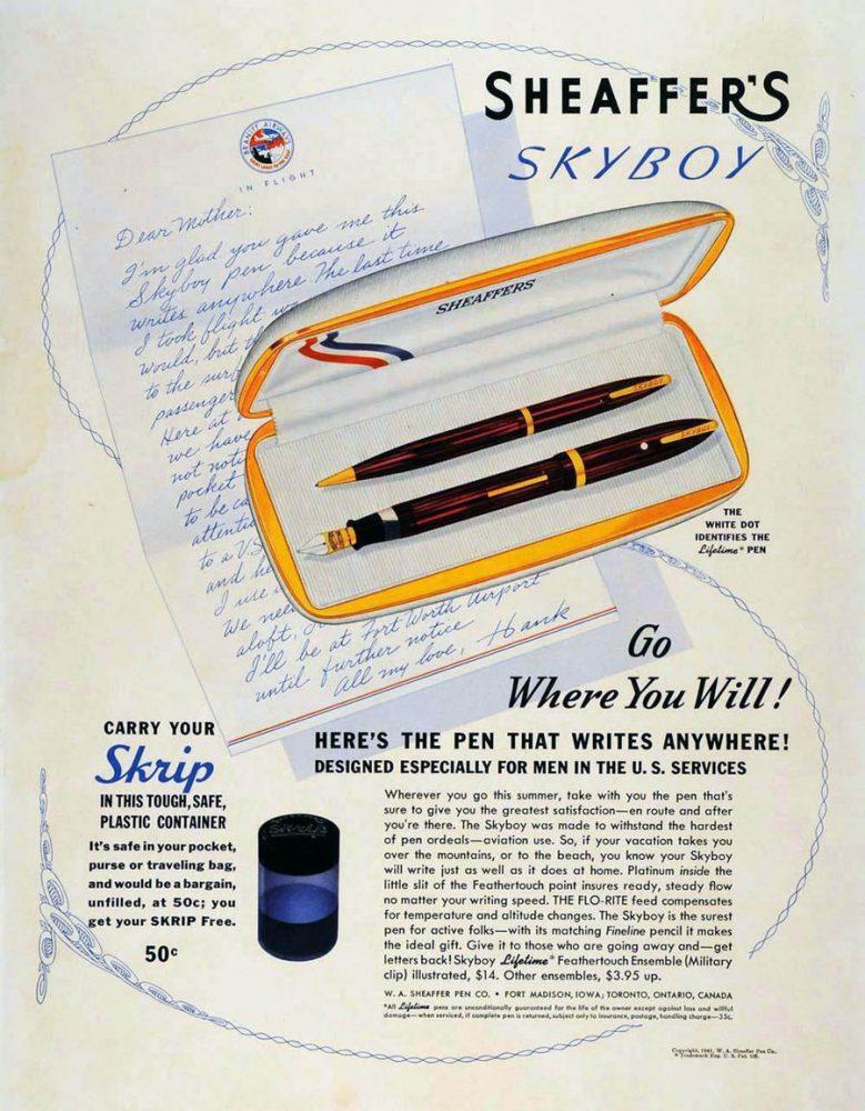 1941 SHEAFFER SKYBOY