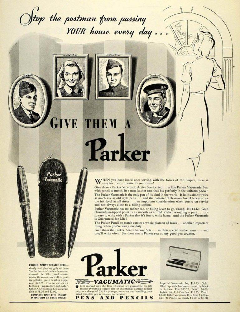 1941 give them a Parker