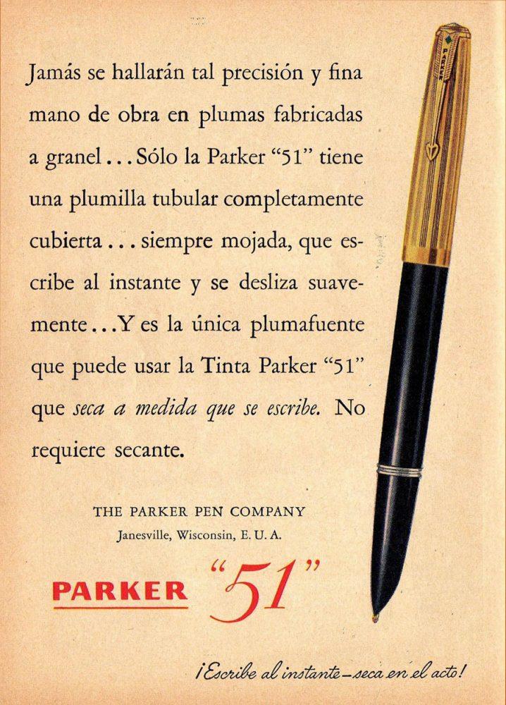1942 12 51 PARKER AD EN ESPAÑOL