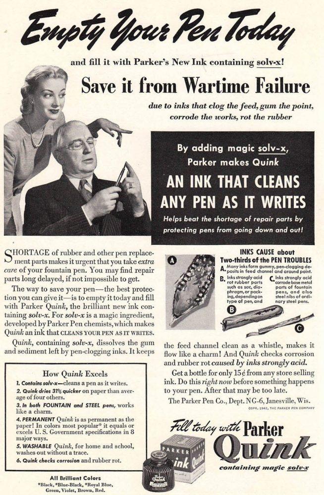 1942 Parker Quink 2