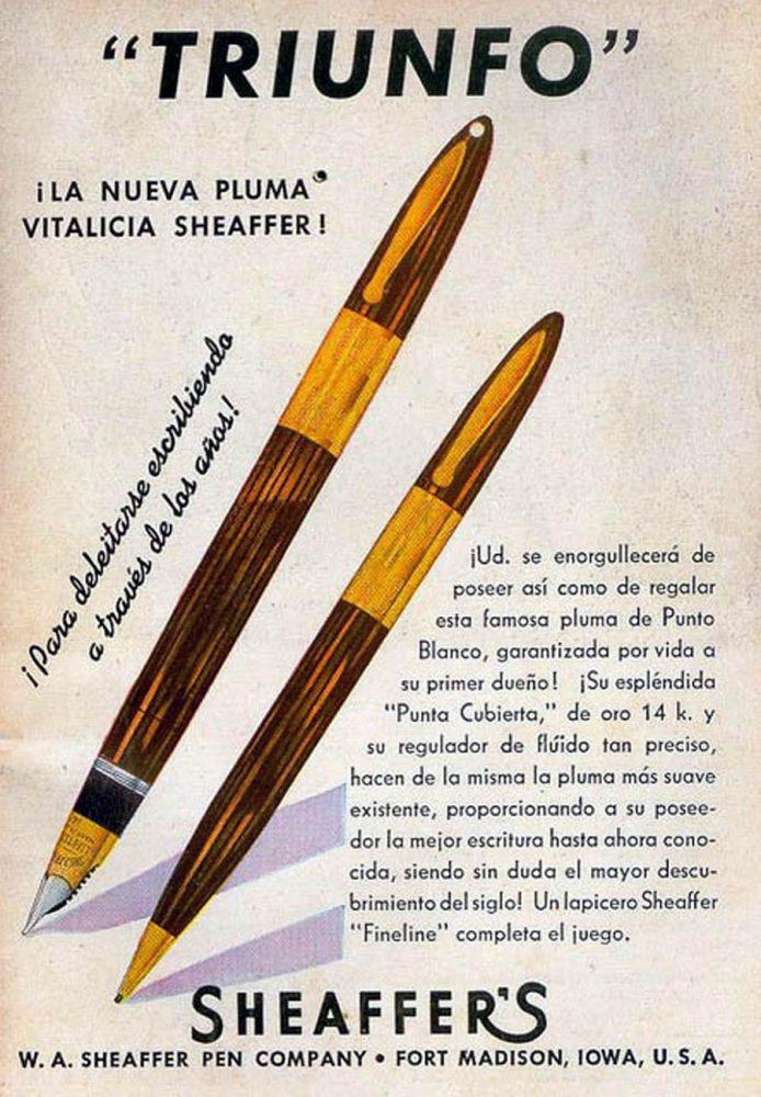 1943 Sheaffer 1943 revista selecciones