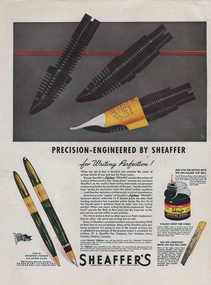 1943 triumph ad