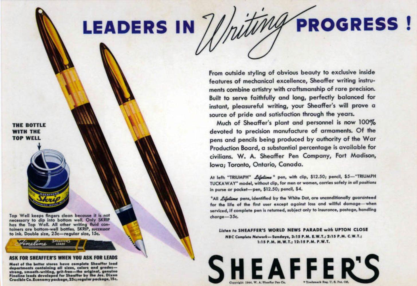 1944 sheaffer 1944 1