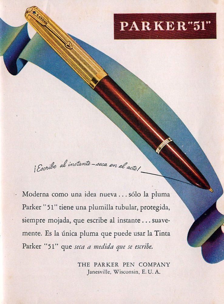 1945 Parker 51 en Argentina 2