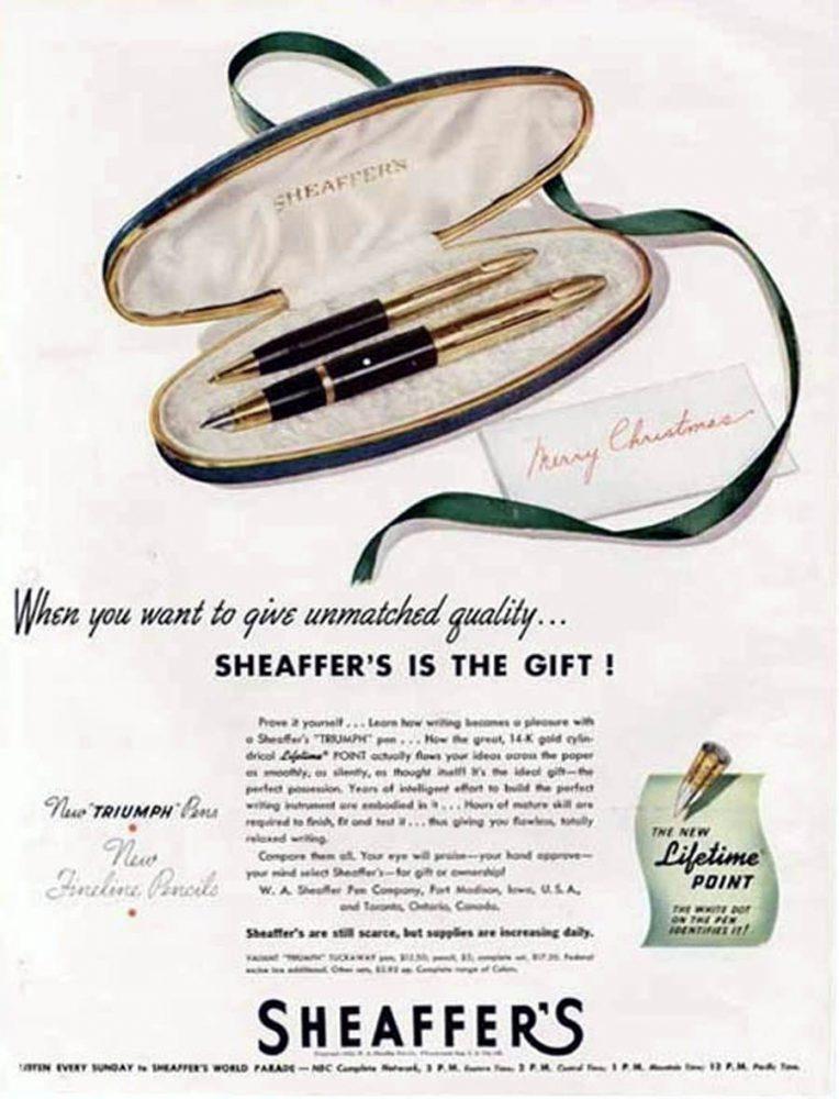 1945 sheaffer tuckaway