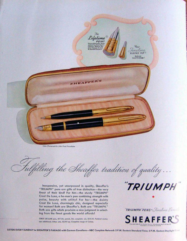 1946 08 19 Triumph Lifetime