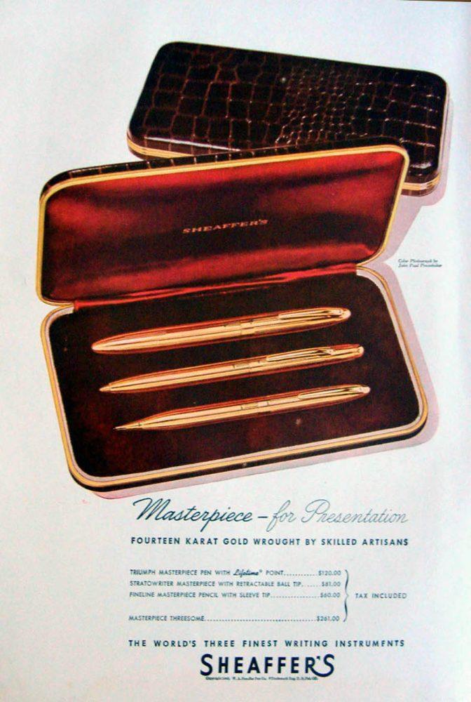 1946 sheaffer ad1