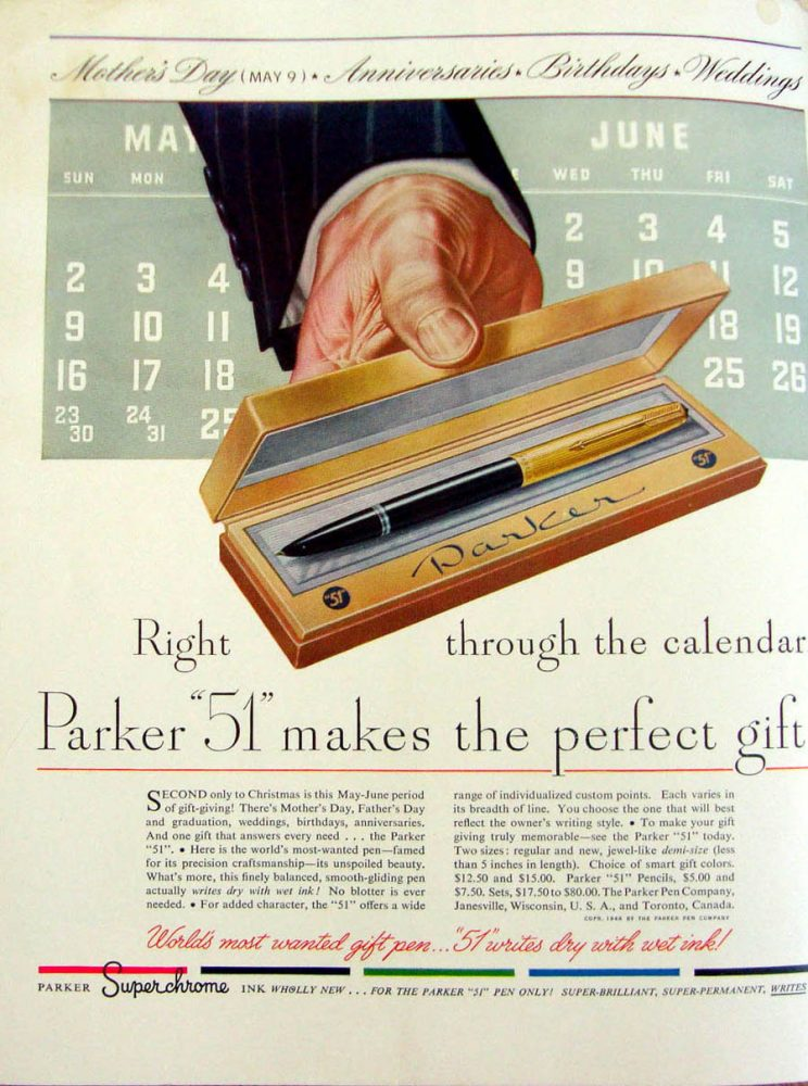 1948 04 01 Parker 51 no BD